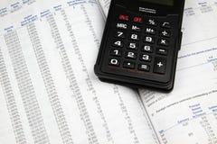 Investmentfonds-Prospekt Lizenzfreies Stockbild