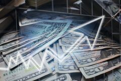 Investments Surging Over Good Economic News High Quality