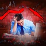 Stock market crash. Stock Images