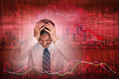 Stock market crash. Stock Photos