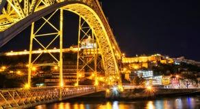 Invicta. Bridge in Porto, Portugal Stock Image