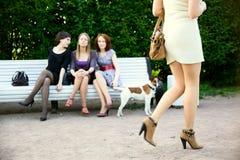 Invidia femminile Immagini Stock Libere da Diritti