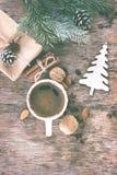 Invierno, Año Nuevo, todavía de la Navidad vida Foto de archivo libre de regalías