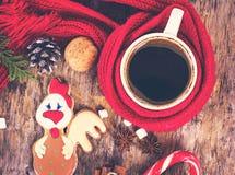 Invierno, Año Nuevo, todavía de la Navidad vida Imagen de archivo