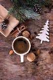 Invierno, Año Nuevo, todavía de la Navidad vida Fotos de archivo