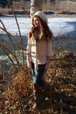 Invierno adolescente Fotografía de archivo libre de regalías