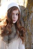 Invierno adolescente Foto de archivo
