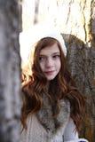 Invierno adolescente Fotos de archivo