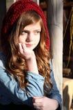 Invierno adolescente Imagenes de archivo
