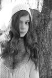 Invierno adolescente Fotos de archivo libres de regalías