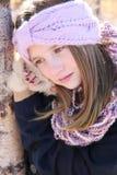 Invierno adolescente Imagen de archivo