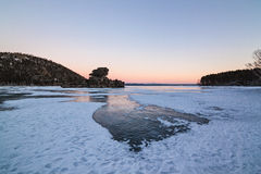 Invierno asombroso Borovoe Imagen de archivo