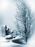 Invierno azul Fotos de archivo libres de regalías