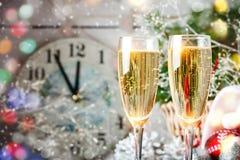 Invierno background Juguetes del ` s del Año Nuevo Feliz Año Nuevo y Feliz Navidad Imagen de archivo