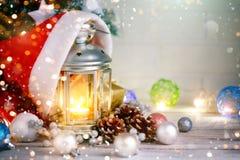 Invierno background Juguetes del ` s del Año Nuevo Feliz Año Nuevo y Feliz Navidad Imágenes de archivo libres de regalías