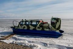 Invierno Baikal E Imagen de archivo libre de regalías
