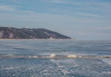 Invierno Baikal E r Imagen de archivo libre de regalías