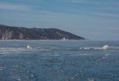 Invierno Baikal E r Imagenes de archivo
