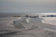 Invierno Baikal E r Foto de archivo
