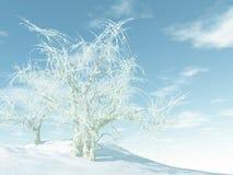 Invierno blanco stock de ilustración