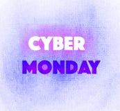 Invierno brillante transparente maravilloso blando artístico hermoso abstracto lunes cibernético que pone letras a la mano violet Fotos de archivo libres de regalías