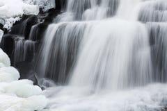 Invierno, caídas del enlace fotos de archivo