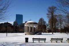 Invierno de Boston Foto de archivo libre de regalías