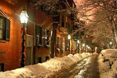 Invierno de Boston Imagen de archivo