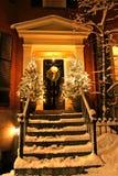 Invierno de Boston Imagen de archivo libre de regalías