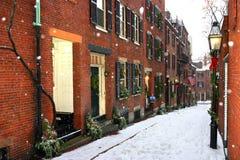Invierno de Boston fotos de archivo