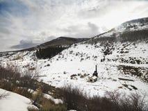 Invierno de Colorado escénico. Fotos de archivo