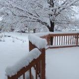 Invierno de Iowa Imagen de archivo libre de regalías
