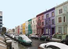 Invierno de la calle de Londres Fotografía de archivo