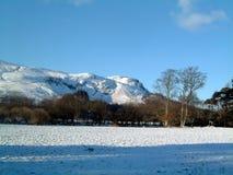 Invierno de la colina de Dunmore Imagen de archivo libre de regalías
