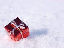 Invierno de la decoración de la Navidad Foto de archivo libre de regalías