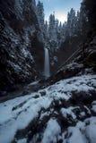 Invierno de las caídas de la cala de Wells Fotos de archivo