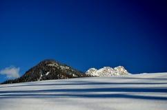 Invierno de Lofer Foto de archivo