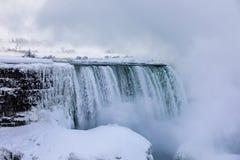 Invierno de Niagara Falls Imágenes de archivo libres de regalías