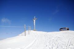 Invierno de Valgardena Imagen de archivo libre de regalías