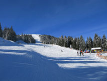 Invierno en Austria Fotos de archivo libres de regalías