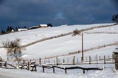 Invierno en Bosnia 2 Imagenes de archivo