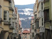 Invierno en Brixen Fotos de archivo
