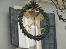 Invierno en Brixen Fotografía de archivo