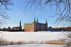 Invierno en Dinamarca Imágenes de archivo libres de regalías