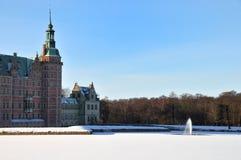 Invierno en Dinamarca Foto de archivo