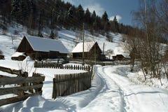 Invierno en el campo Fotografía de archivo libre de regalías