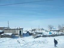 Invierno en el este de Turquía Imagen de archivo libre de regalías