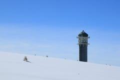 Invierno en el Feldberg en el bosque negro Fotos de archivo libres de regalías
