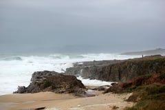 Invierno en el mar Fotografía de archivo libre de regalías