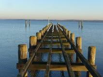 Invierno en el mar Báltico Fotografía de archivo libre de regalías